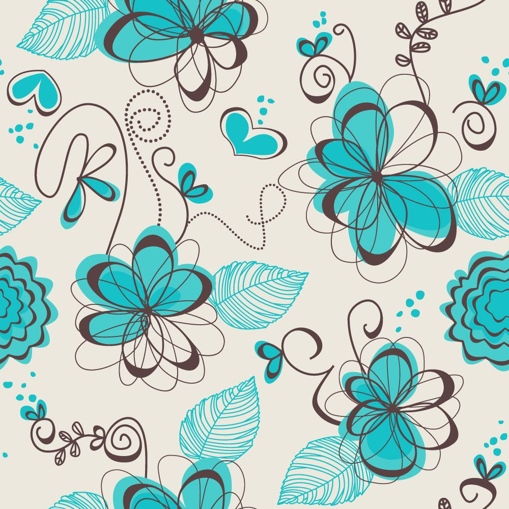 Papel de Parede Floral 0041 - Adesivos de Parede  - Paredes Decoradas
