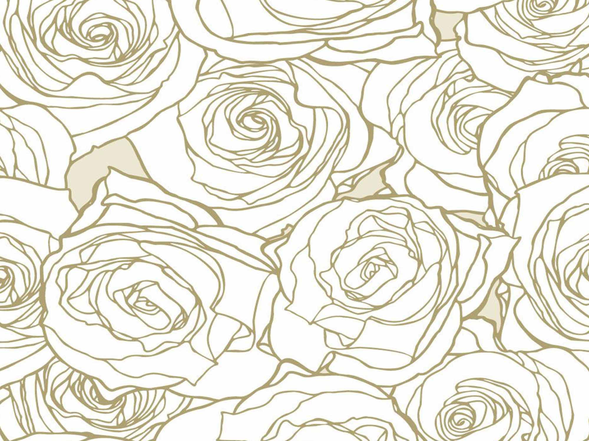 Papel de Parede Floral 0048 - Adesivos de Parede  - Paredes Decoradas