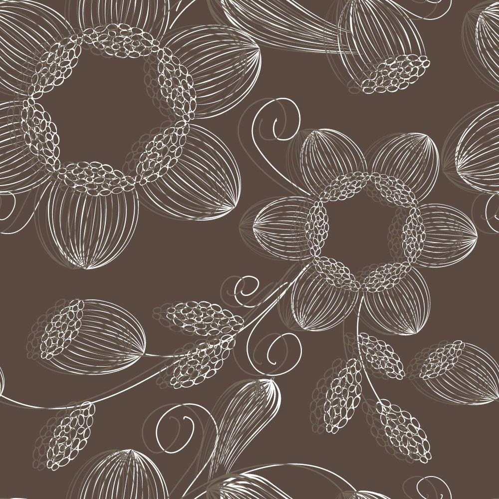 Papel de Parede Floral 0051 - Adesivos de Parede