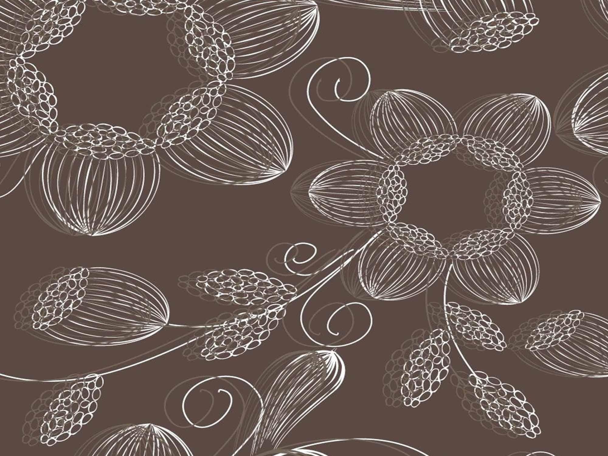 Papel de Parede Floral 0051 - Adesivos de Parede  - Paredes Decoradas