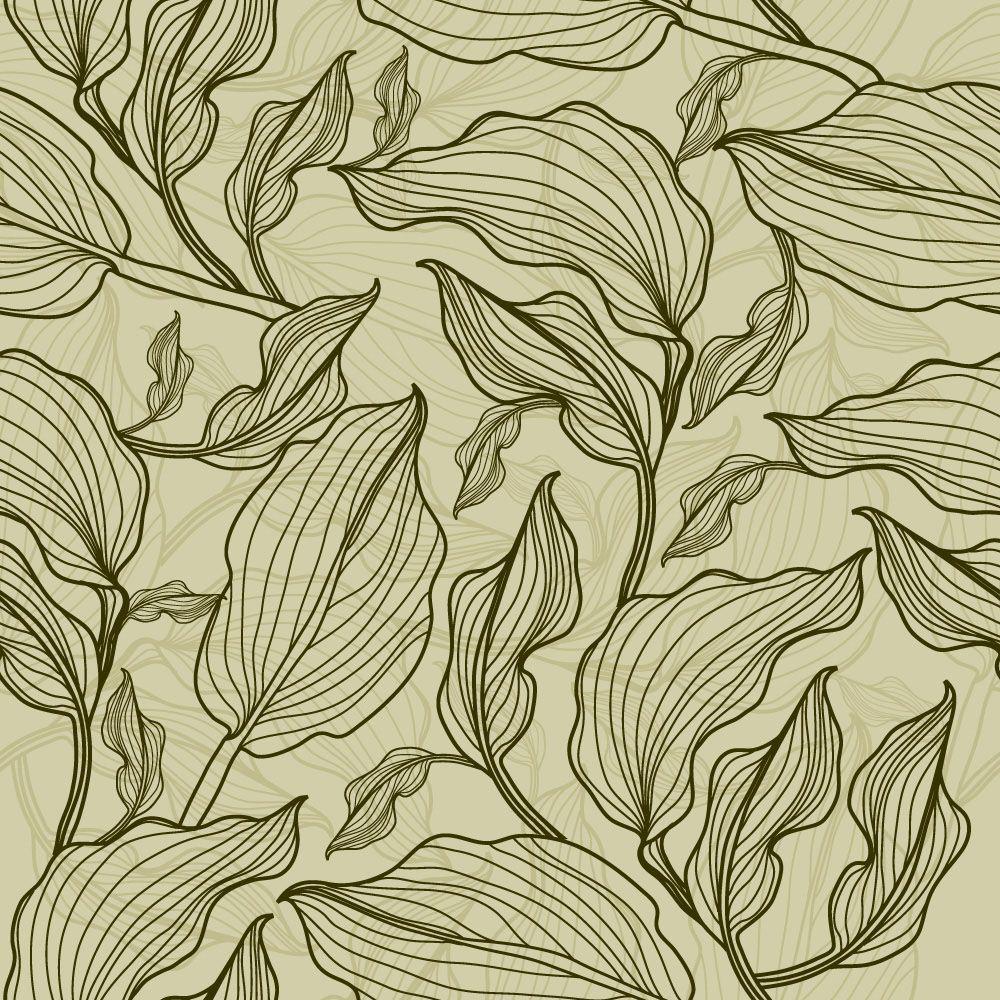 Papel de Parede Floral 0054 - Adesivos de Parede  - Paredes Decoradas