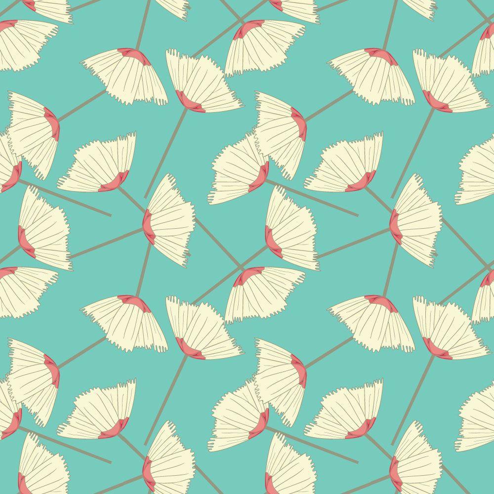 Papel de Parede Floral 0056 - Adesivos de Parede  - Paredes Decoradas
