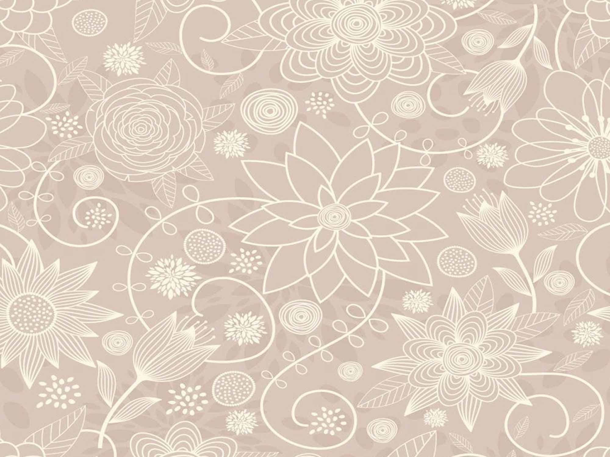 Papel de Parede Floral 0064 - Adesivos de Parede  - Paredes Decoradas
