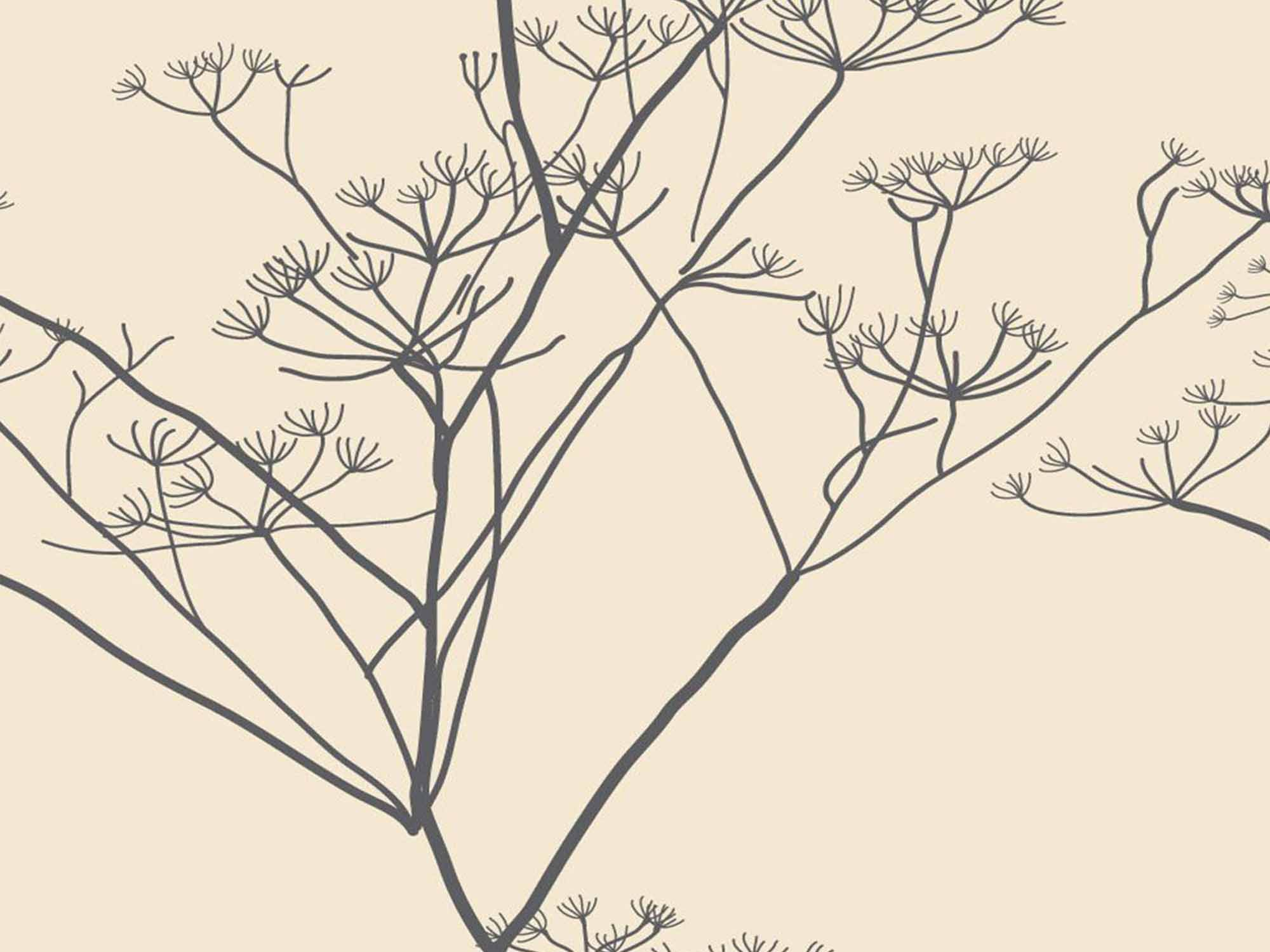 Papel de Parede Floral 0066 - Adesivos de Parede  - Paredes Decoradas