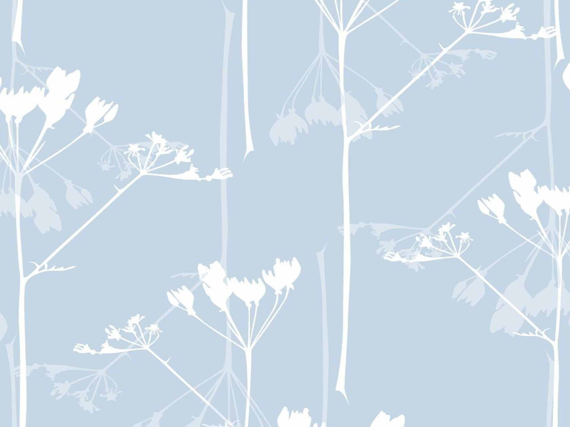 Papel de Parede Floral 0070 - Adesivos de Parede  - Paredes Decoradas