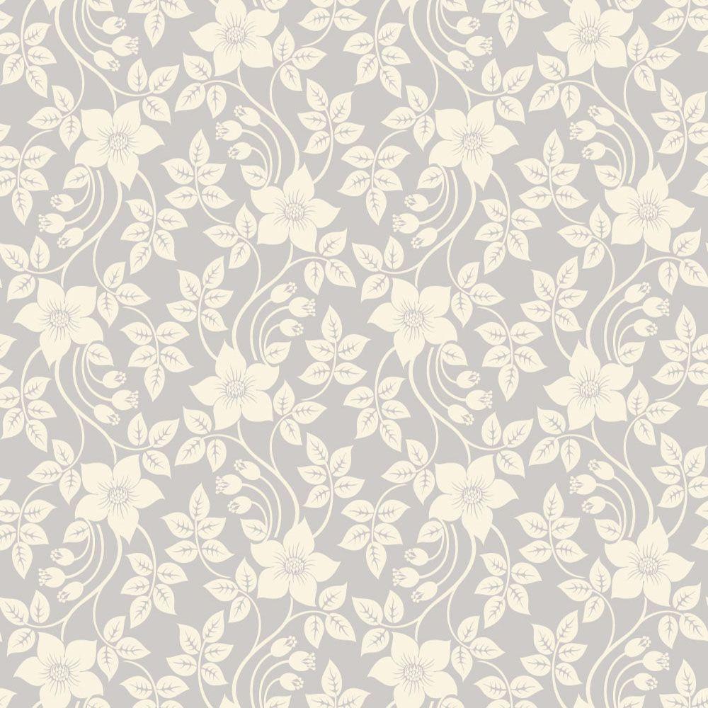 Papel de Parede Floral 0080 - Adesivos de Parede  - Paredes Decoradas