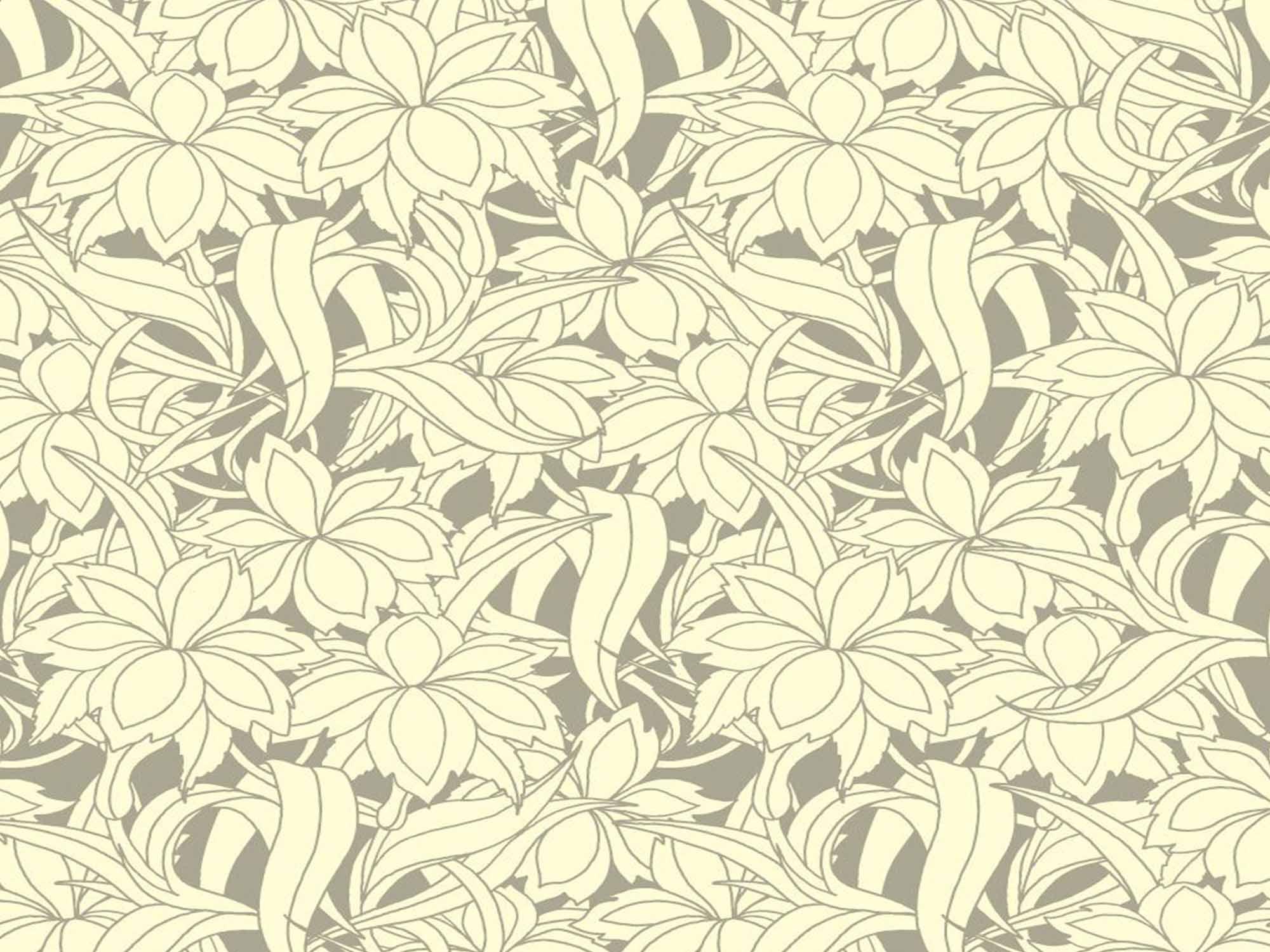 Papel de Parede Floral 0083 - Adesivos de Parede  - Paredes Decoradas