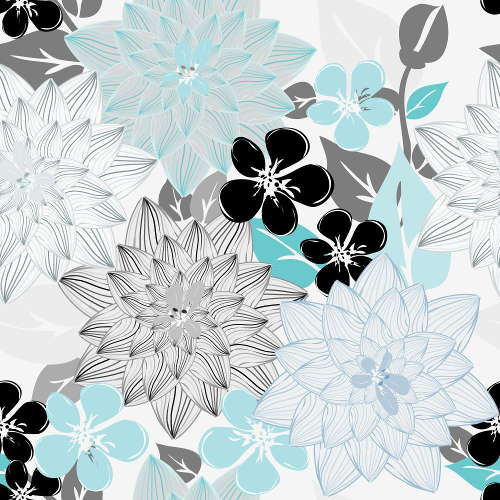 Papel de Parede Floral 0095 - Adesivos de Parede