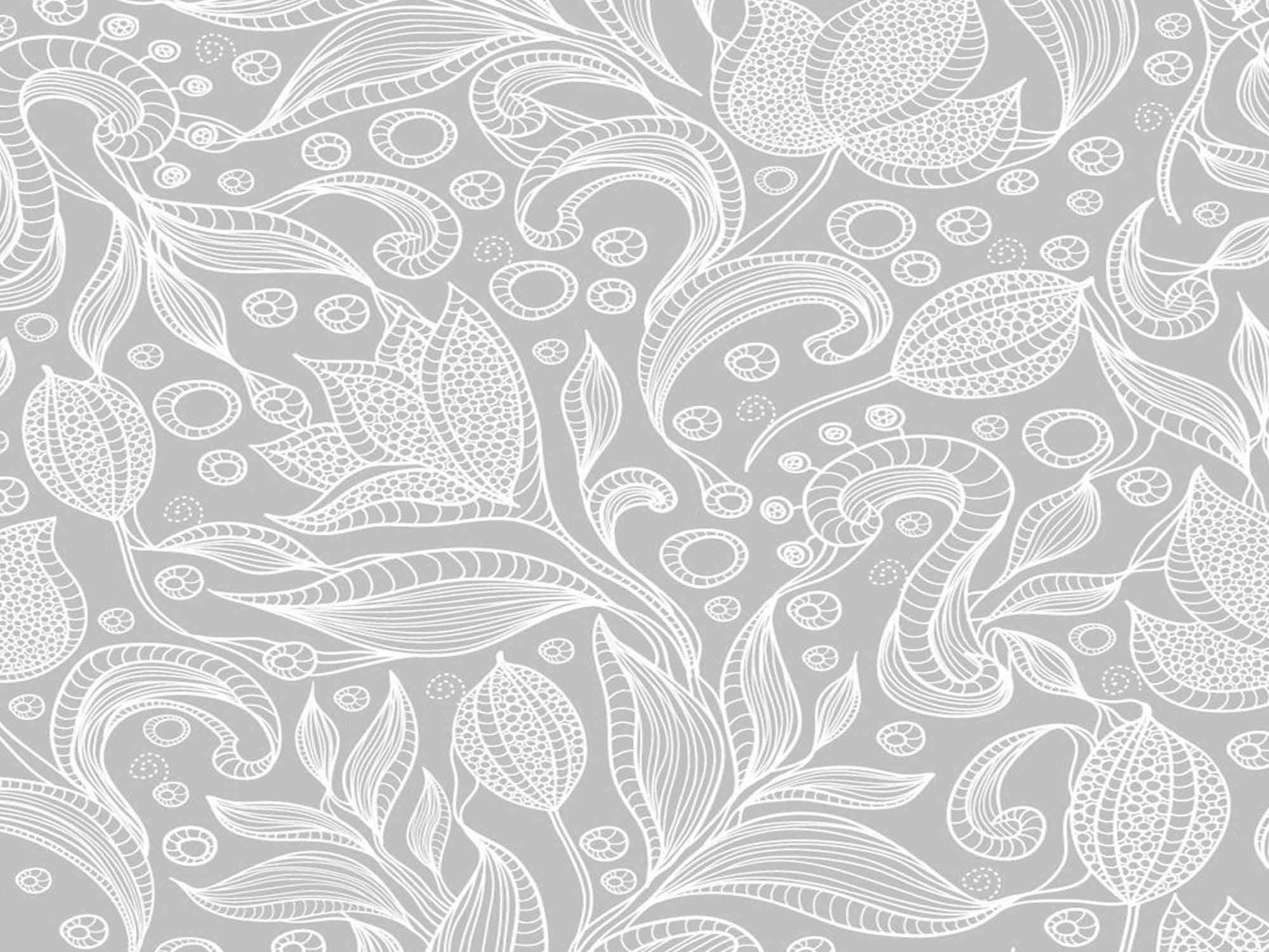 Papel de Parede Floral 0097 - Adesivos de Parede  - Paredes Decoradas