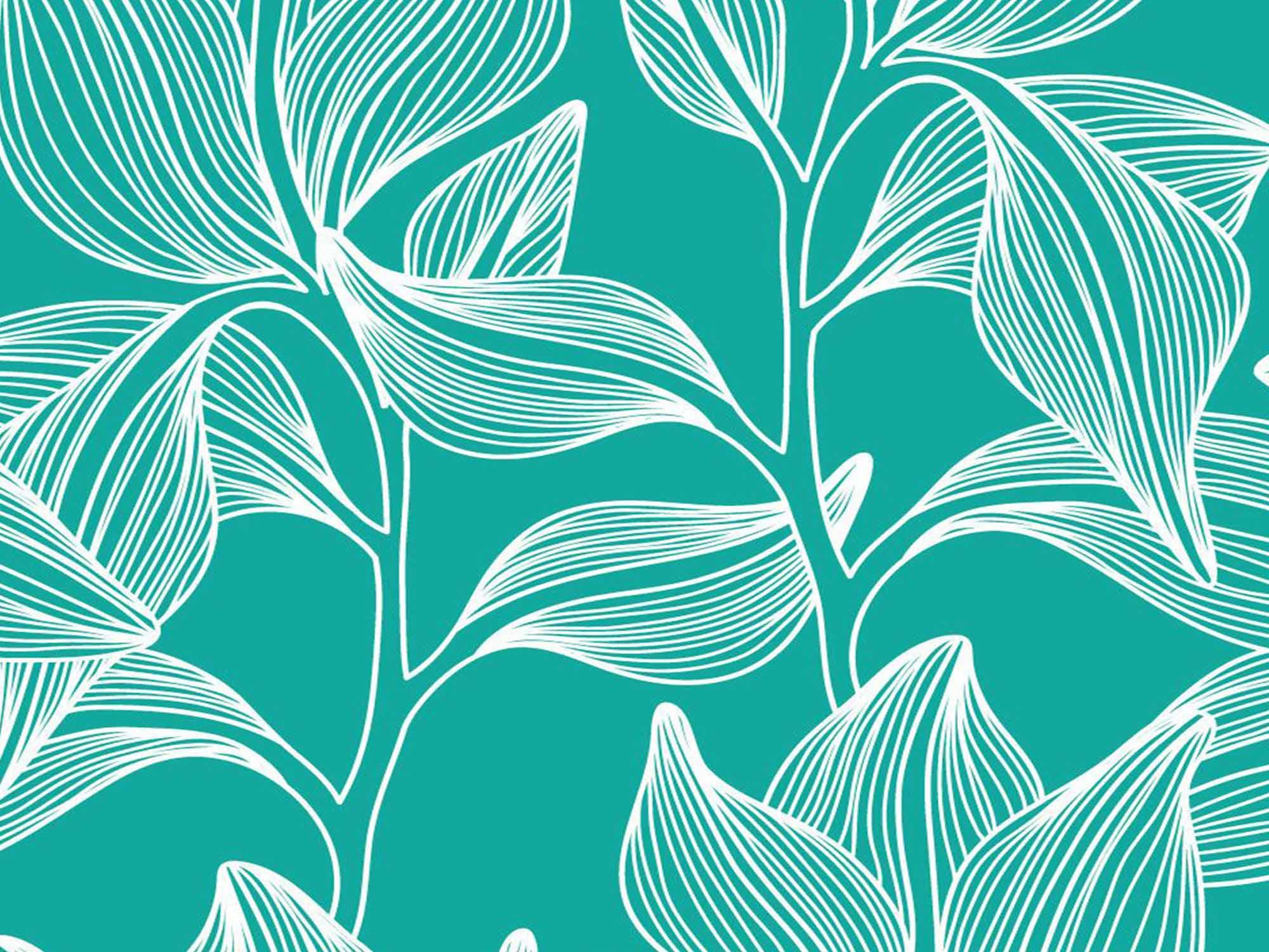Papel de Parede Floral 0098 - Adesivos de Parede  - Paredes Decoradas