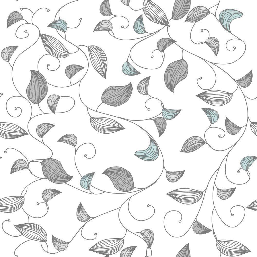 Papel de Parede Floral 0099 - Adesivos de Parede  - Paredes Decoradas