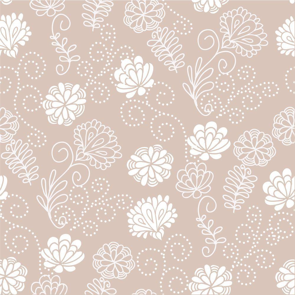 Papel de Parede Floral 0103 - Adesivos de Parede  - Paredes Decoradas