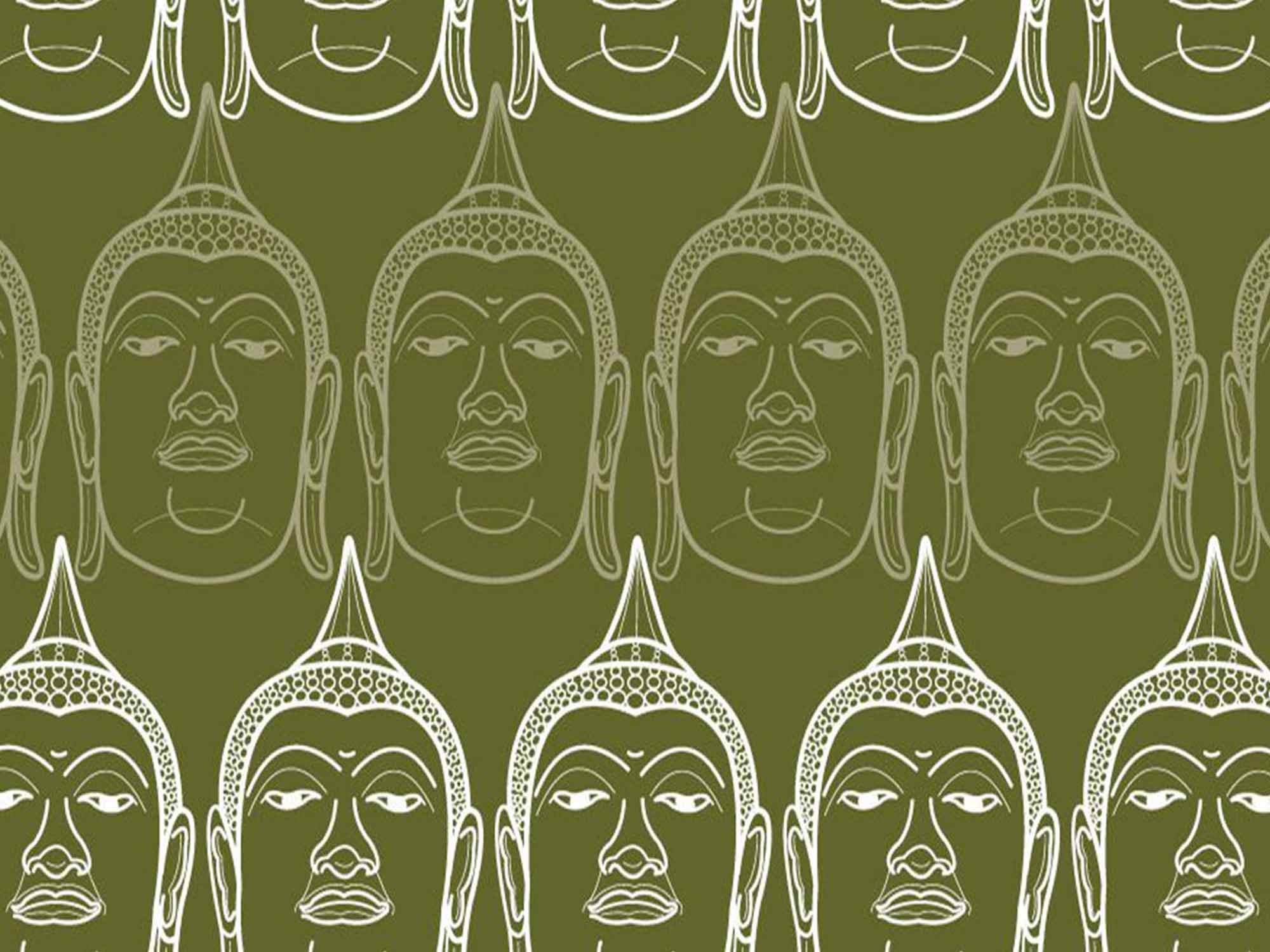 Papel de Parede Indiano 0002 - Adesivos de Parede  - Paredes Decoradas