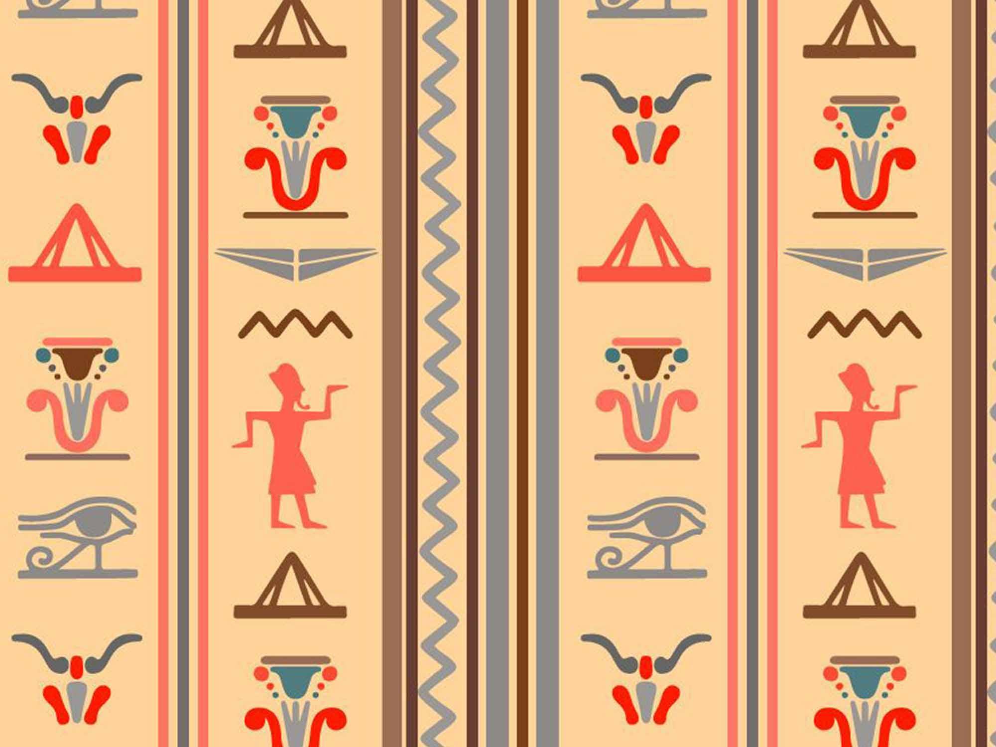 Papel de Parede Indiano 0014 - Adesivos de Parede  - Paredes Decoradas