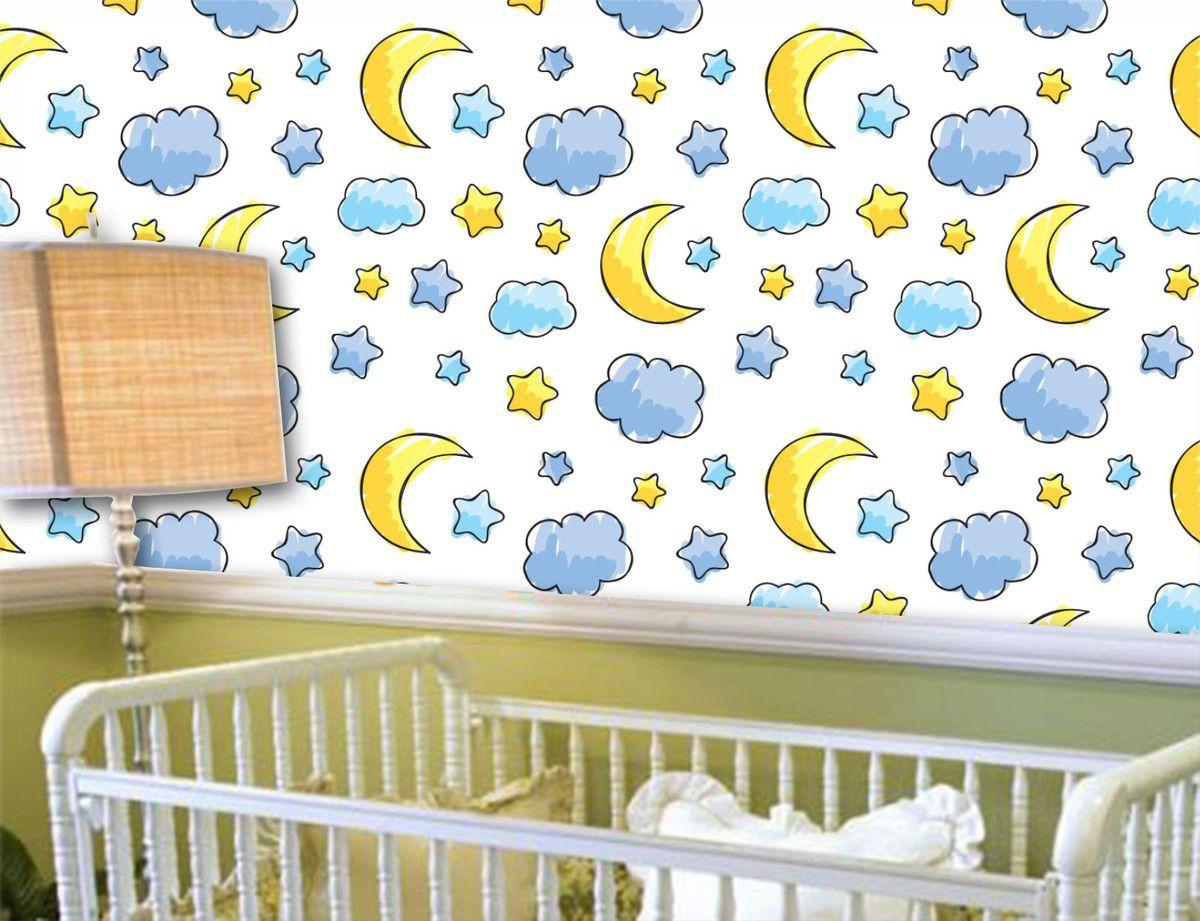 Papel de Parede Infantil 0003 - Adesivos de Parede