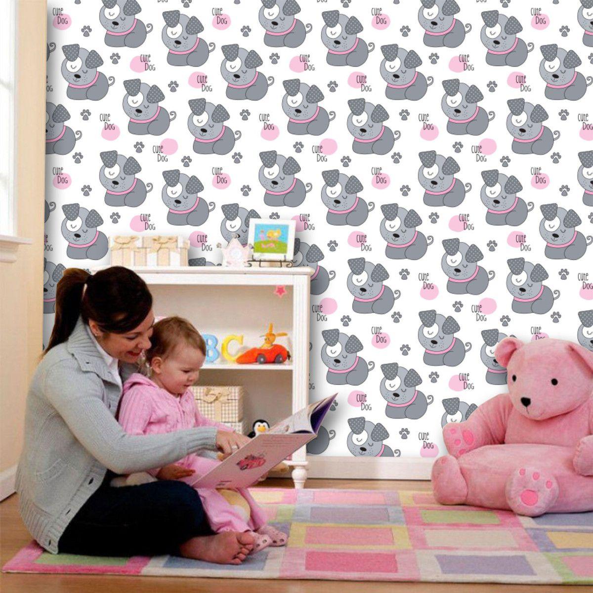 Papel de Parede Infantil 0005 - Adesivos de Parede