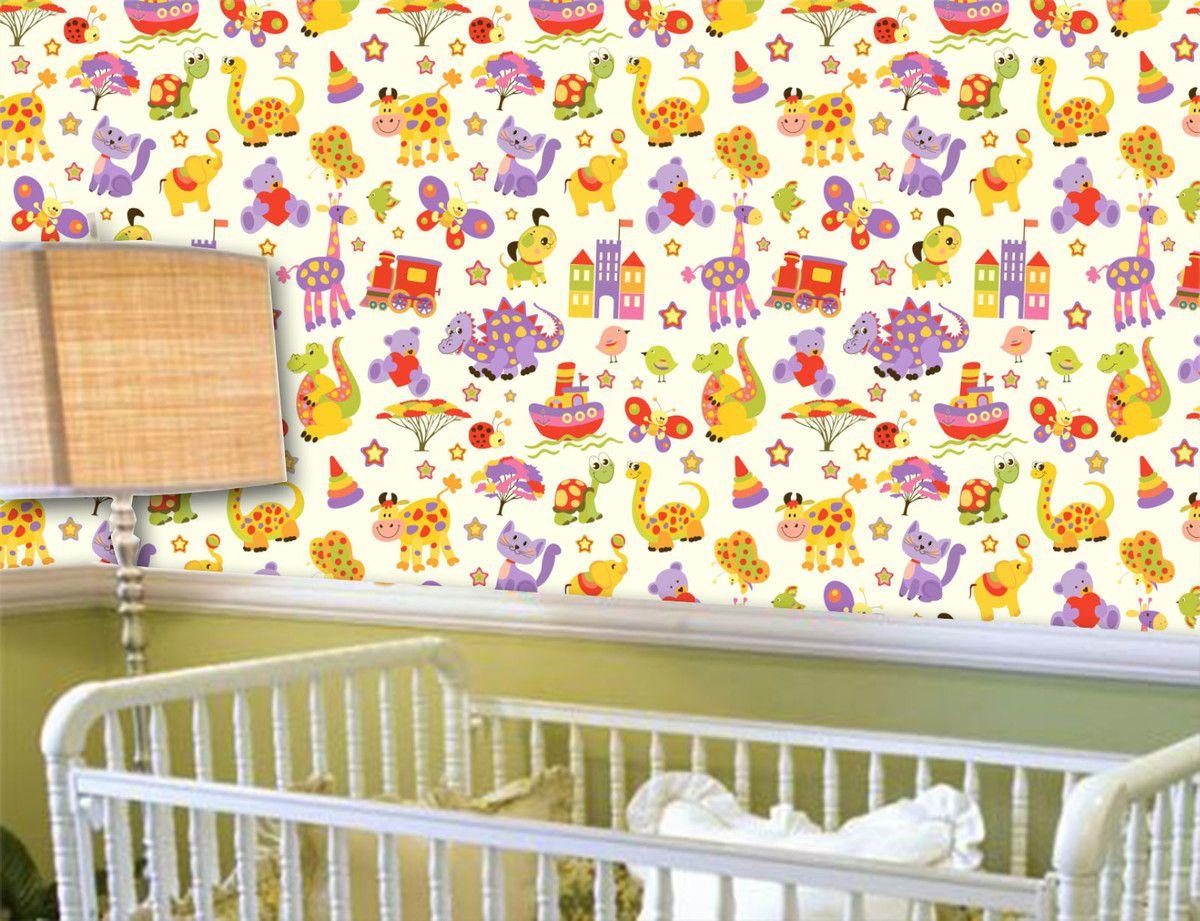 Papel de Parede Infantil 0010 - Adesivos de Parede