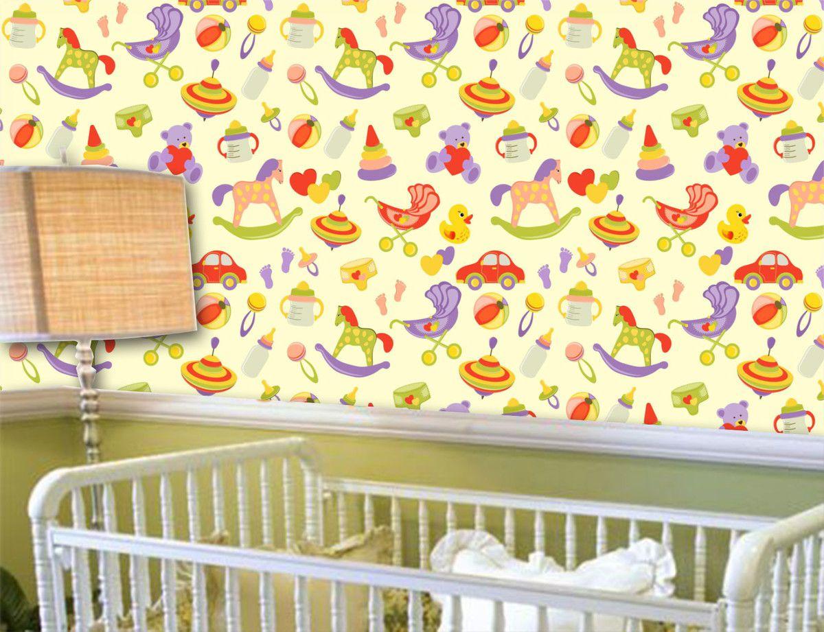 Papel de Parede Infantil 0011 - Adesivos de Parede
