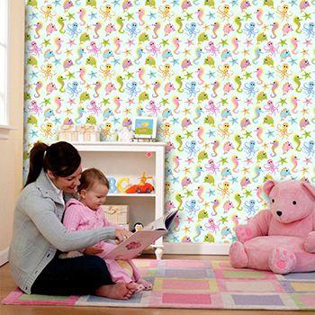 Papel de Parede Infantil 0015 - Adesivos de Parede