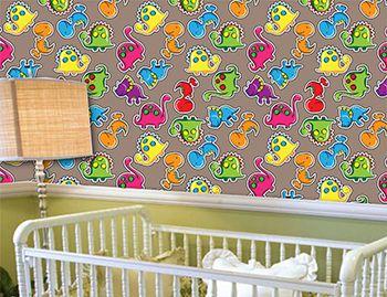 Papel de Parede Infantil 0016 - Adesivos de Parede