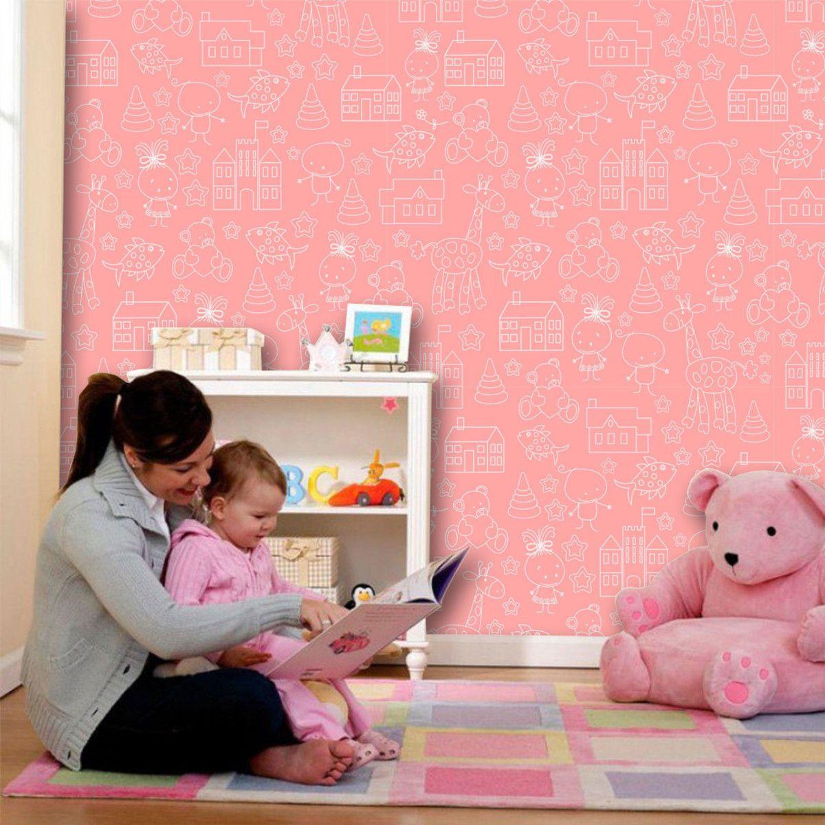 Papel de Parede Infantil 0029 - Adesivos de Parede
