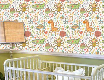 Papel de Parede Infantil 0030 - Adesivos de Parede
