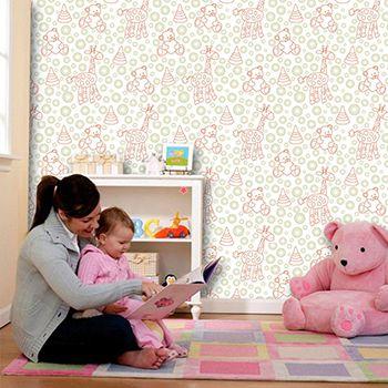 Papel de Parede Infantil 0032 - Adesivos de Parede