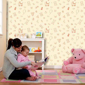 Papel de Parede Infantil 0037 - Adesivos de Parede