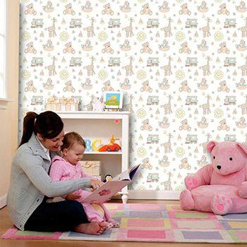 Papel de Parede Infantil 0039 - Adesivos de Parede
