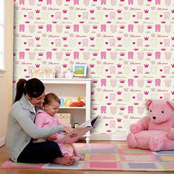 Papel de Parede Infantil 0040 - Adesivos de Parede