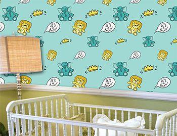Papel de Parede Infantil 0044 - Adesivos de Parede
