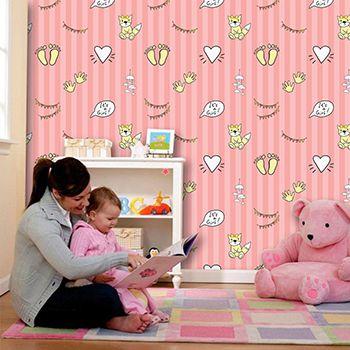 Papel de Parede Infantil 0045 - Adesivos de Parede