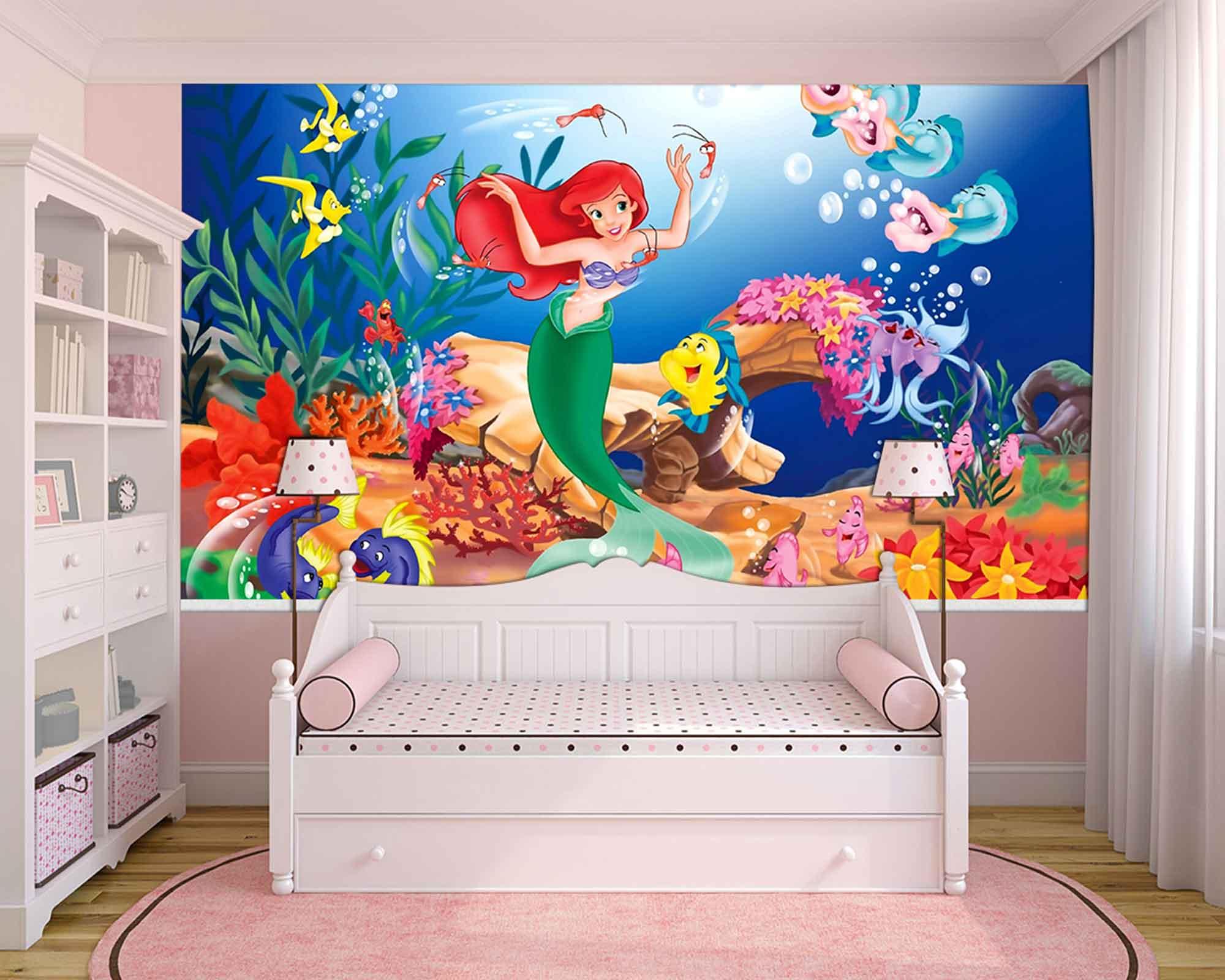 Papel de Parede Infantil Ariel 0005 - papel de parede para quarto