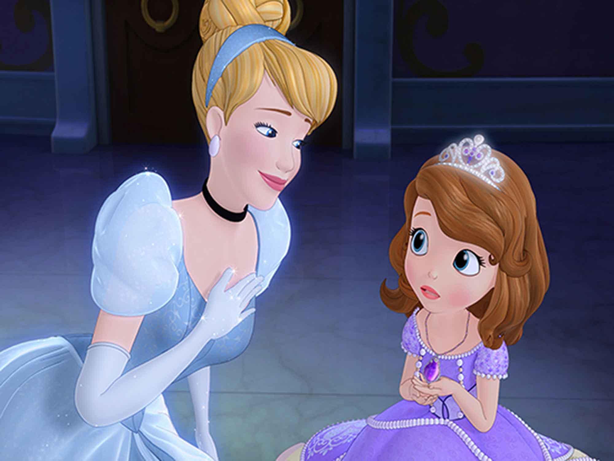 Papel de Parede Infantil Cinderela 0010  - Paredes Decoradas