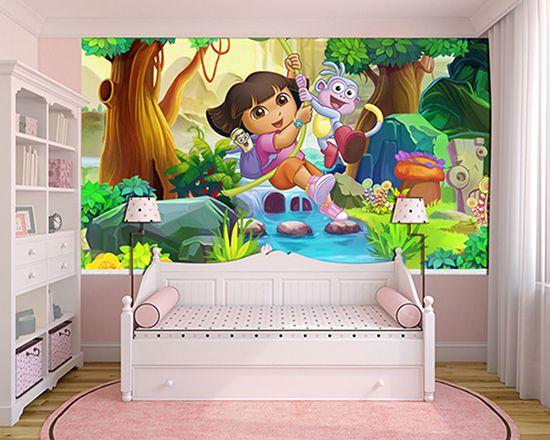 Papel de Parede Infantil Dora Aventureira 0007