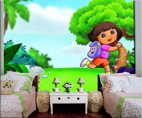 Papel de Parede Infantil Dora Aventureira 0009