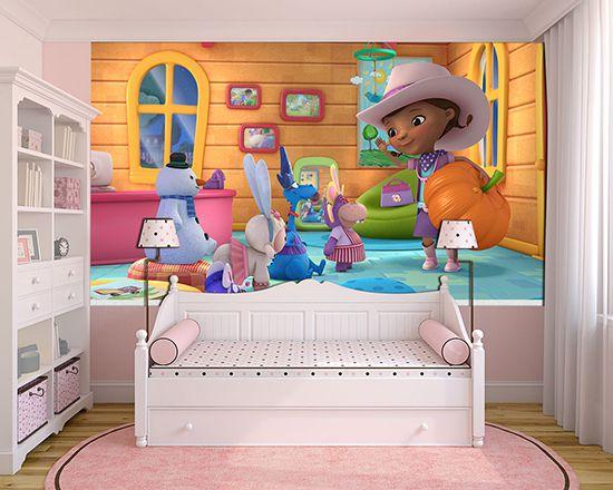 Papel de Parede Infantil Dra Brinquedo 0004