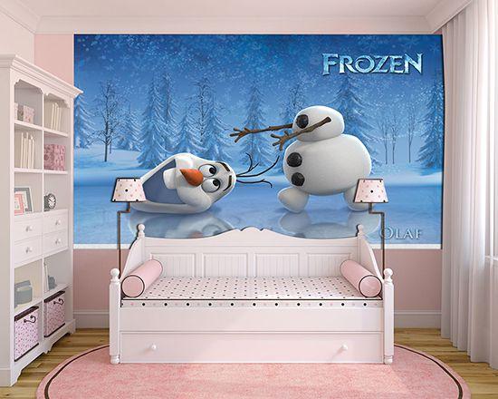 Papel de Parede Infantil Frozen 0003 - Papel de Parede para Quarto