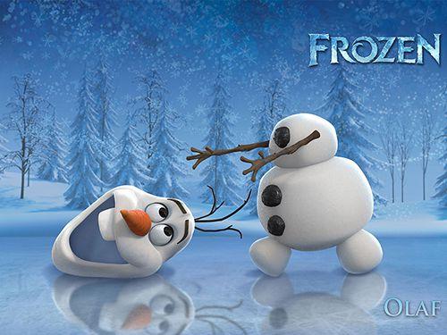 Papel de Parede Infantil Frozen 0003 - Papel de Parede para Quarto  - Paredes Decoradas