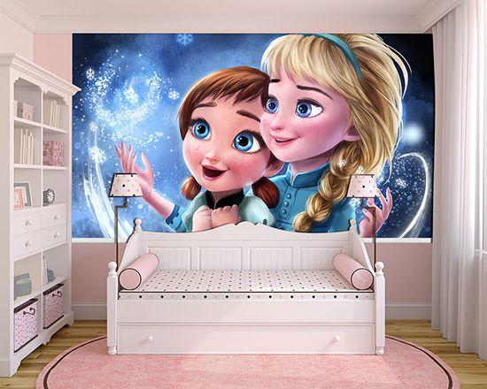 Papel de Parede Infantil Frozen 0005 - Papel de Parede para Quarto