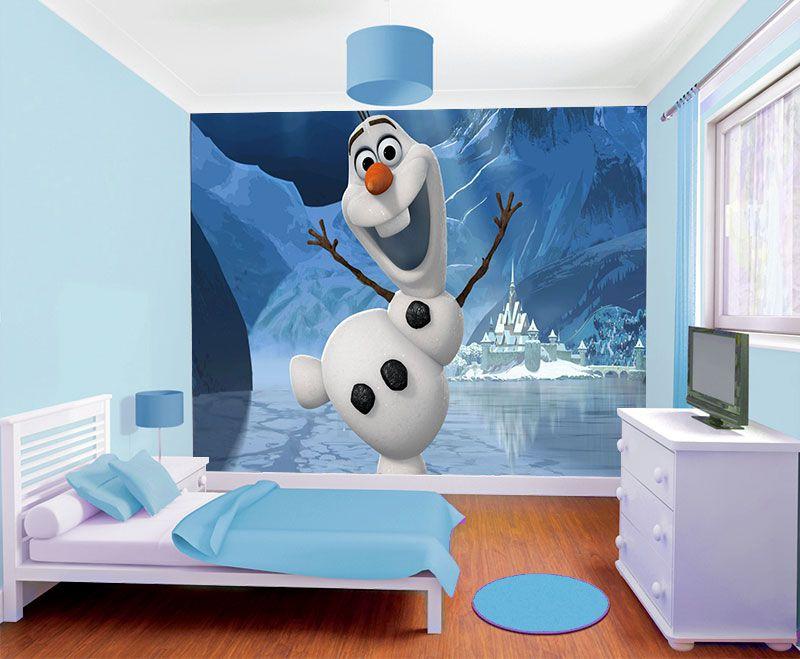 Papel de Parede Infantil Frozen 0006 - Papel de Parede para Quarto