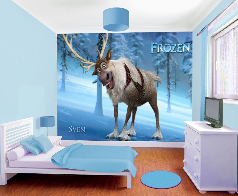 Papel de Parede Infantil Frozen 0009 - Papel de Parede para Quarto