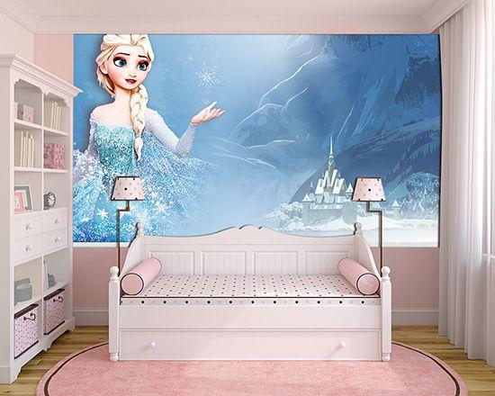 Papel de Parede Infantil Frozen 0015 - Papel de Parede para Quarto
