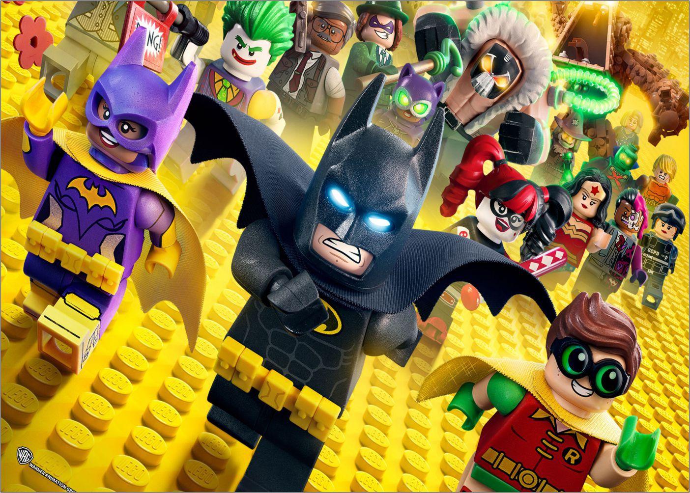 Papel de Parede Infantil Heróis lego 0004  - Paredes Decoradas
