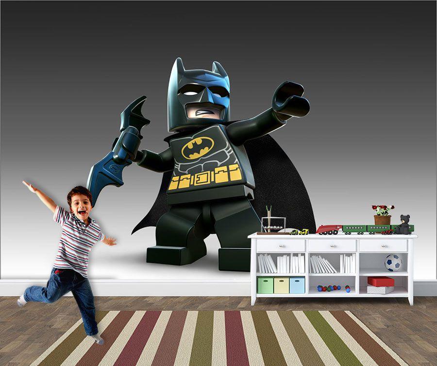 Papel de Parede Infantil Heróis lego 0006