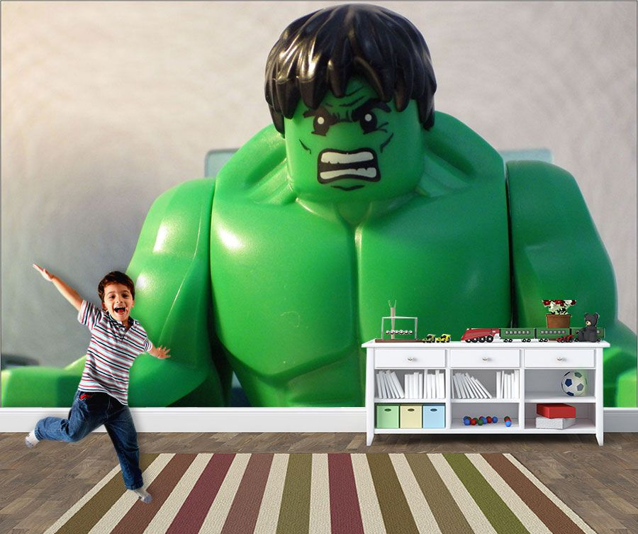 Papel de Parede Infantil Heróis lego 0007