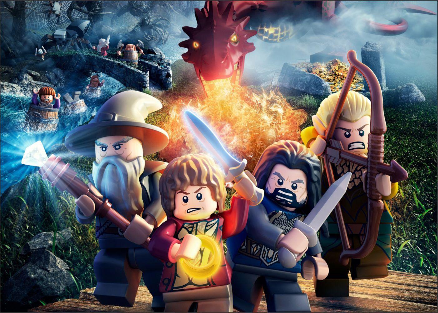 Papel de Parede Infantil Heróis lego 0012  - Paredes Decoradas