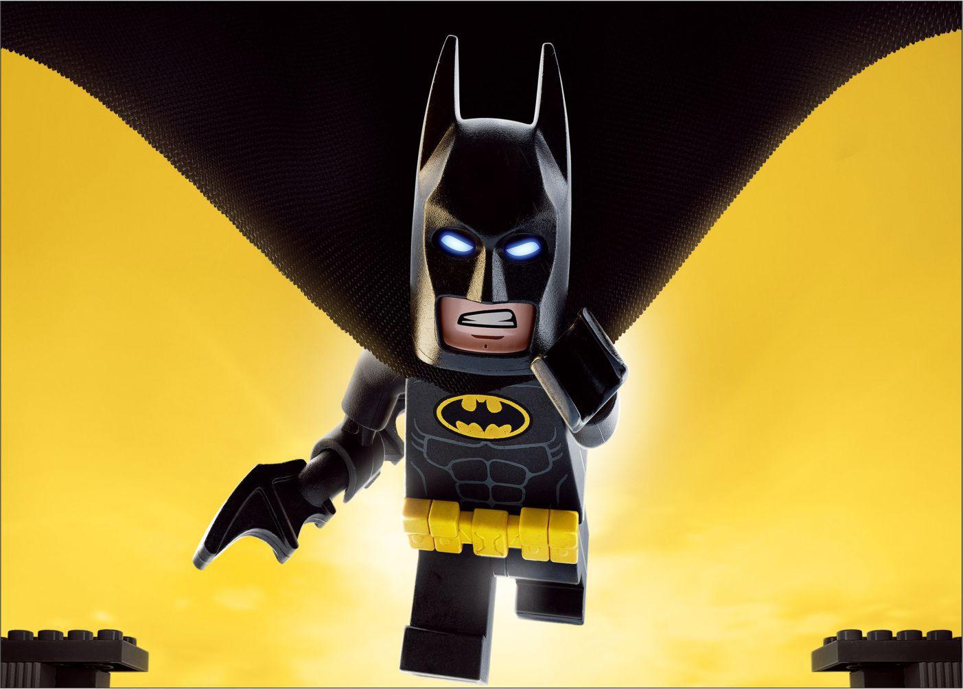 Papel de Parede Infantil Heróis lego 0015  - Paredes Decoradas