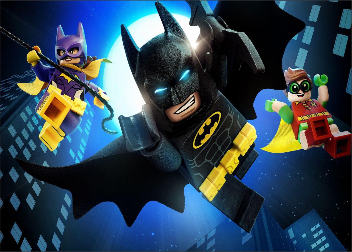 Papel de Parede Infantil Heróis lego 0016  - Paredes Decoradas