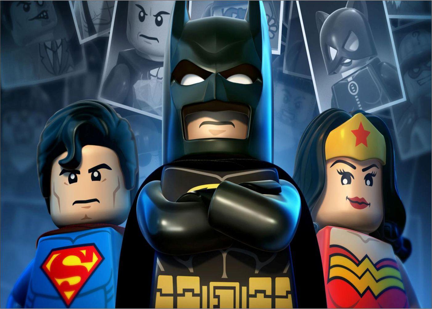 Papel de Parede Infantil Heróis lego 0018  - Paredes Decoradas